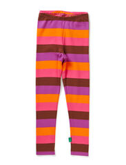 Block stripe leggings - Purple