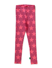 Star leggings - Pink
