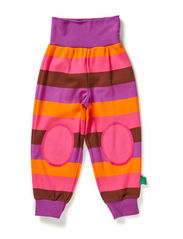 Block stripe pants - Purple