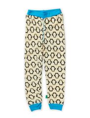 Wool loungewear pants - Blue