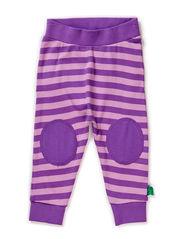 Stripe funky pants - Purple