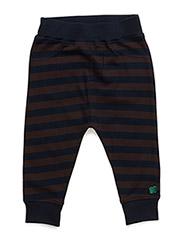 Stripe funky pants - NAVY
