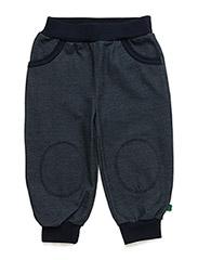 Denim stretch pocket pants - DENIM