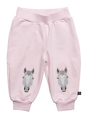 Horse sweat pants - ROSE