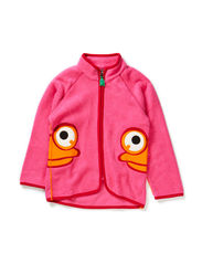 Fleece jacket baby - Pink