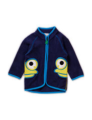 Fleece jacket baby - Navy