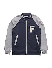 Sweat jacket - PALE GREYMARL