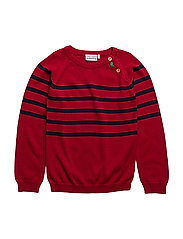 Knit sweater - RED