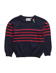 Knit sweater baby - NAVY