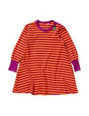 Stripe dress baby - Purple