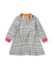 Nordic dress baby - Grey