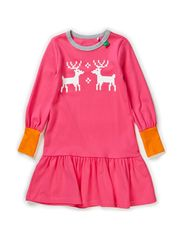 Nordic front dress - Pink