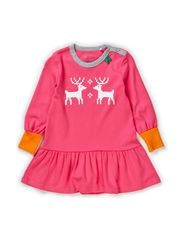 Nordic front dress baby - Pink