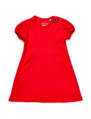 Alfa dress baby - Red