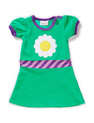 Velvet dress baby - Green