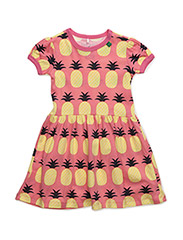 Pineapple dress - CORAL