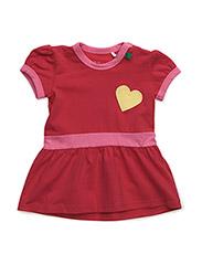 Spot dress baby - RED