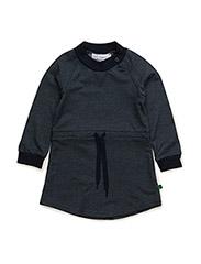 Denim stretch dress baby - DENIM