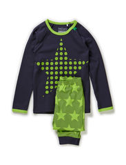Star loungewear - Lime