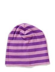 Stripe beanie - Purple