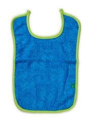 Towel bib - Blue...