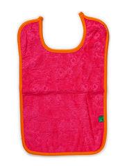Towel bib - Pink
