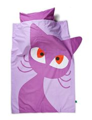 Bed linen Cat baby - Purple