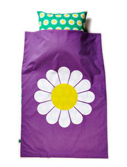 Daisy bed linen junior - Purple