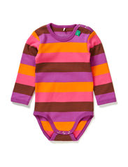 Block stripe body - Purple
