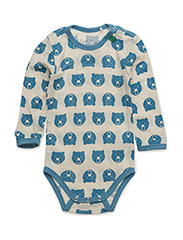 Wool polar bear body - BLUE