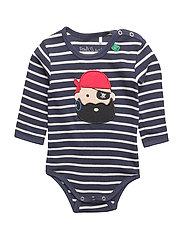 Sailor stripe pirate body - NAVY