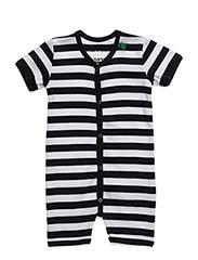 Sailor stripe beach body - NAVY