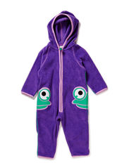 Fleece suit - Purple