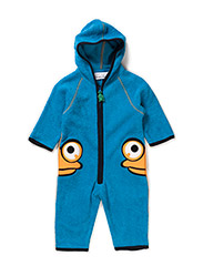 Fleece suit - JEWEL BLUE