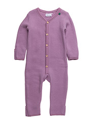Wool fleece suit - OLD ROSE
