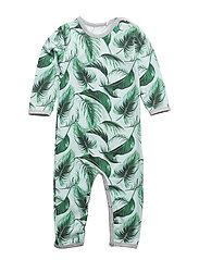 Palm bodysuit - PALE GREYMARL