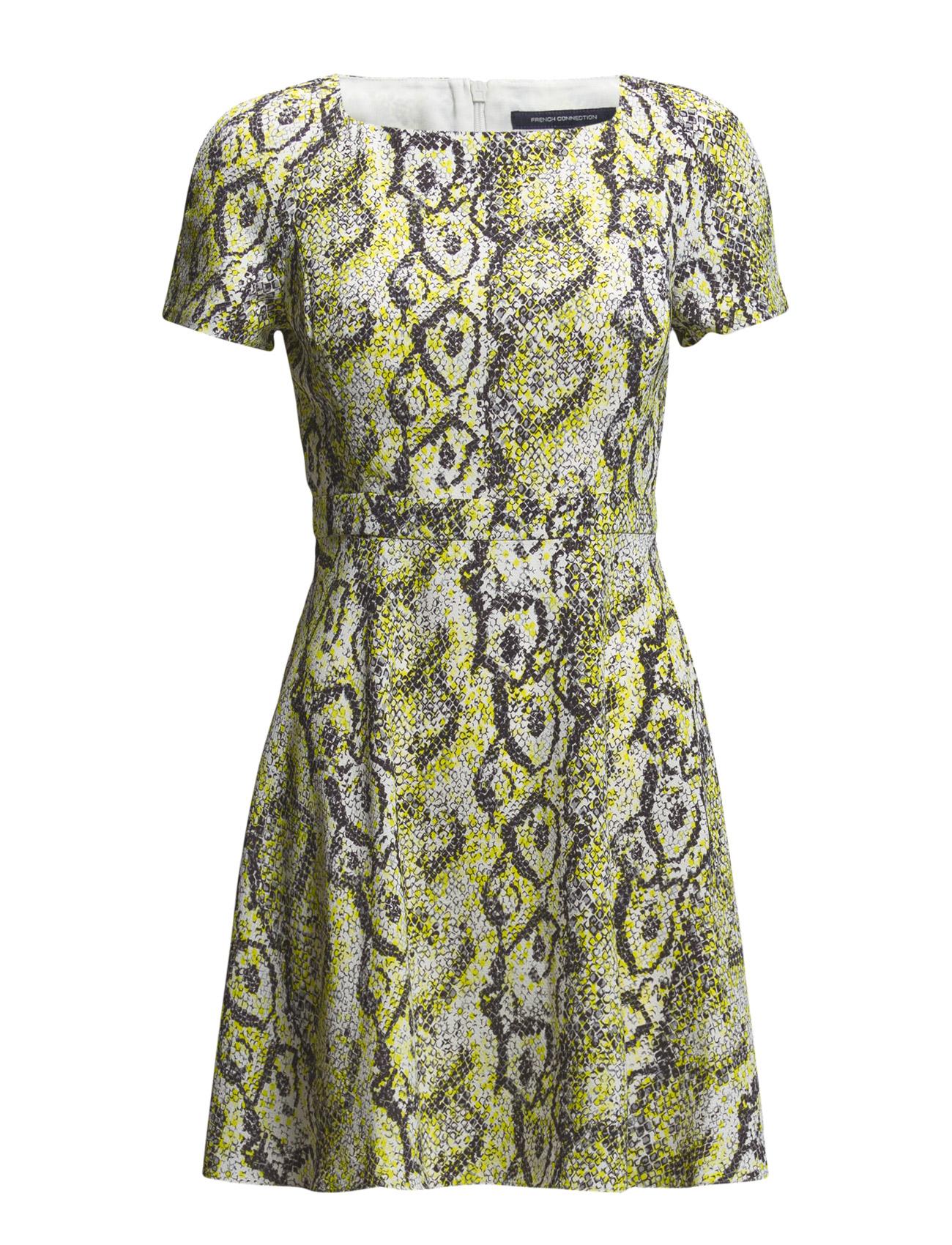 Soho Boa Drape Ss Flare Dress French Connection Korte kjoler til Kvinder i