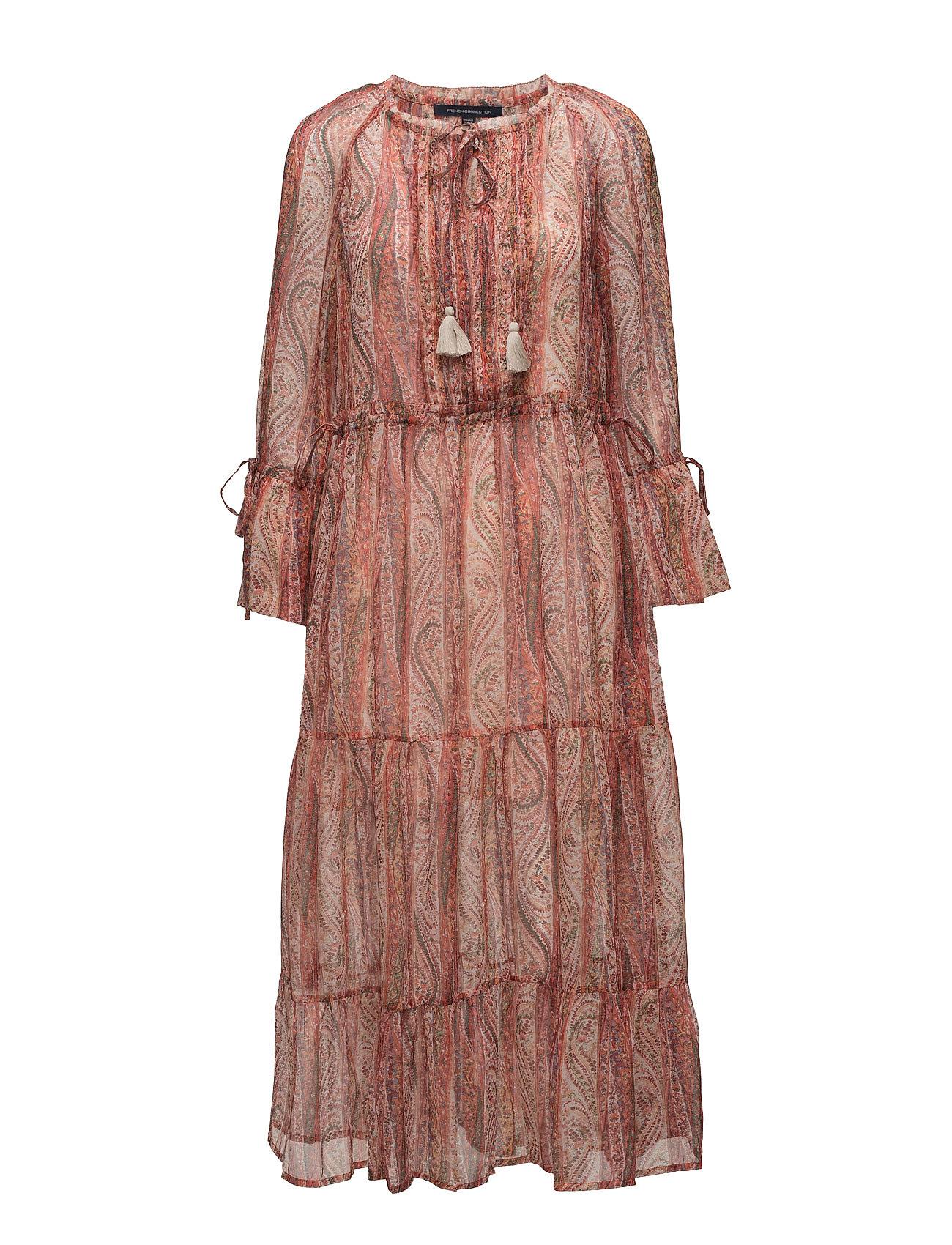 Malika Sheer Paisley Printed Maxi Dress French Connection Kjoler til Kvinder i