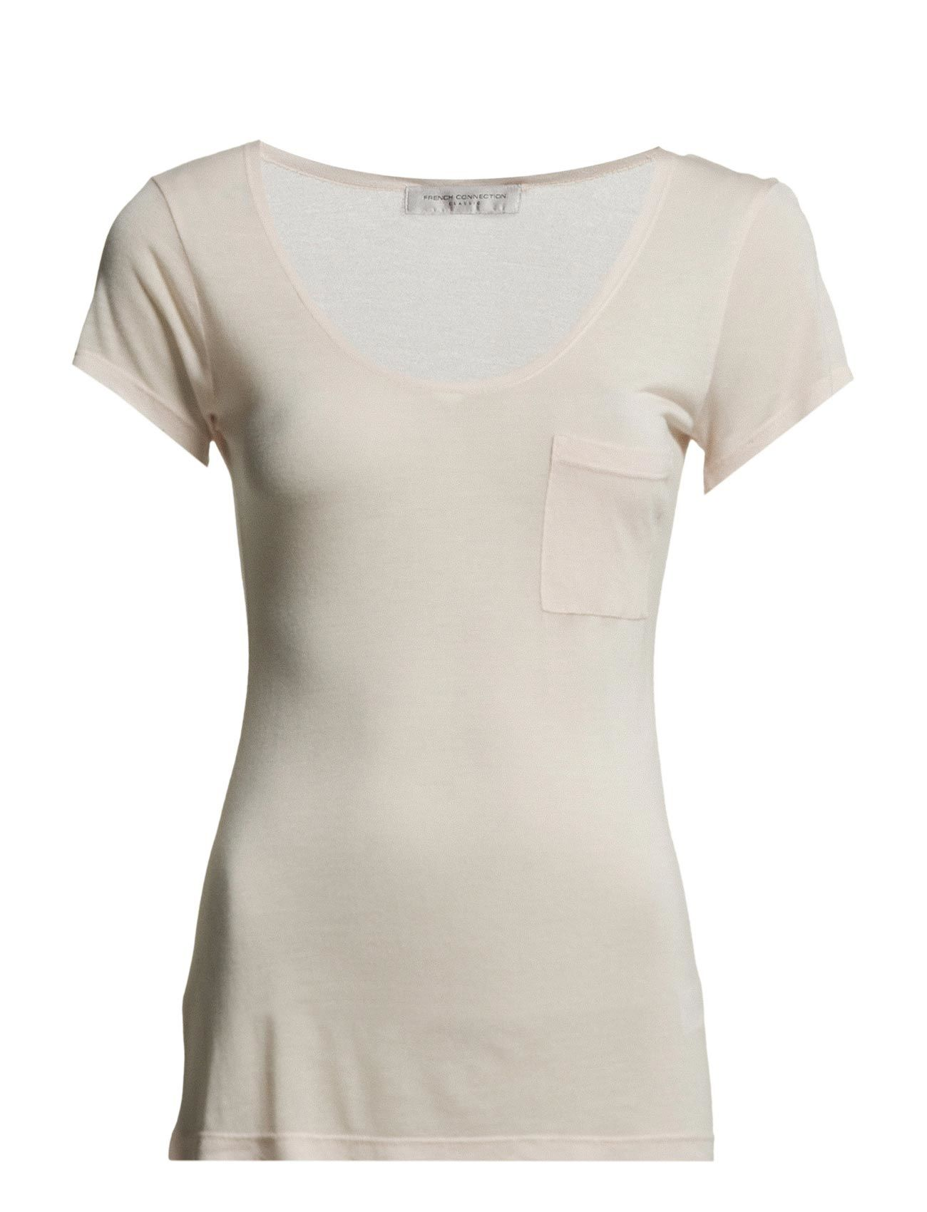 Classic Marl Luxe S/S V Nk Tee