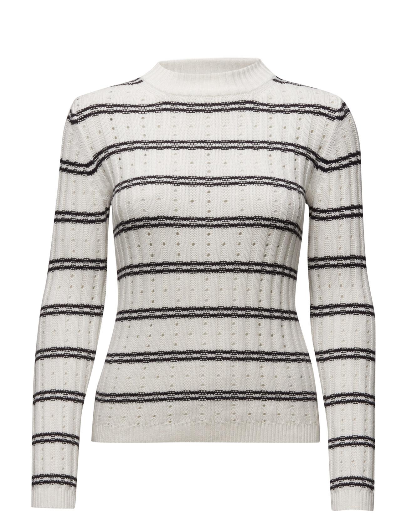 Po Rib Knits Ls High Neck Jmpr French Connection Sweatshirts til Damer i