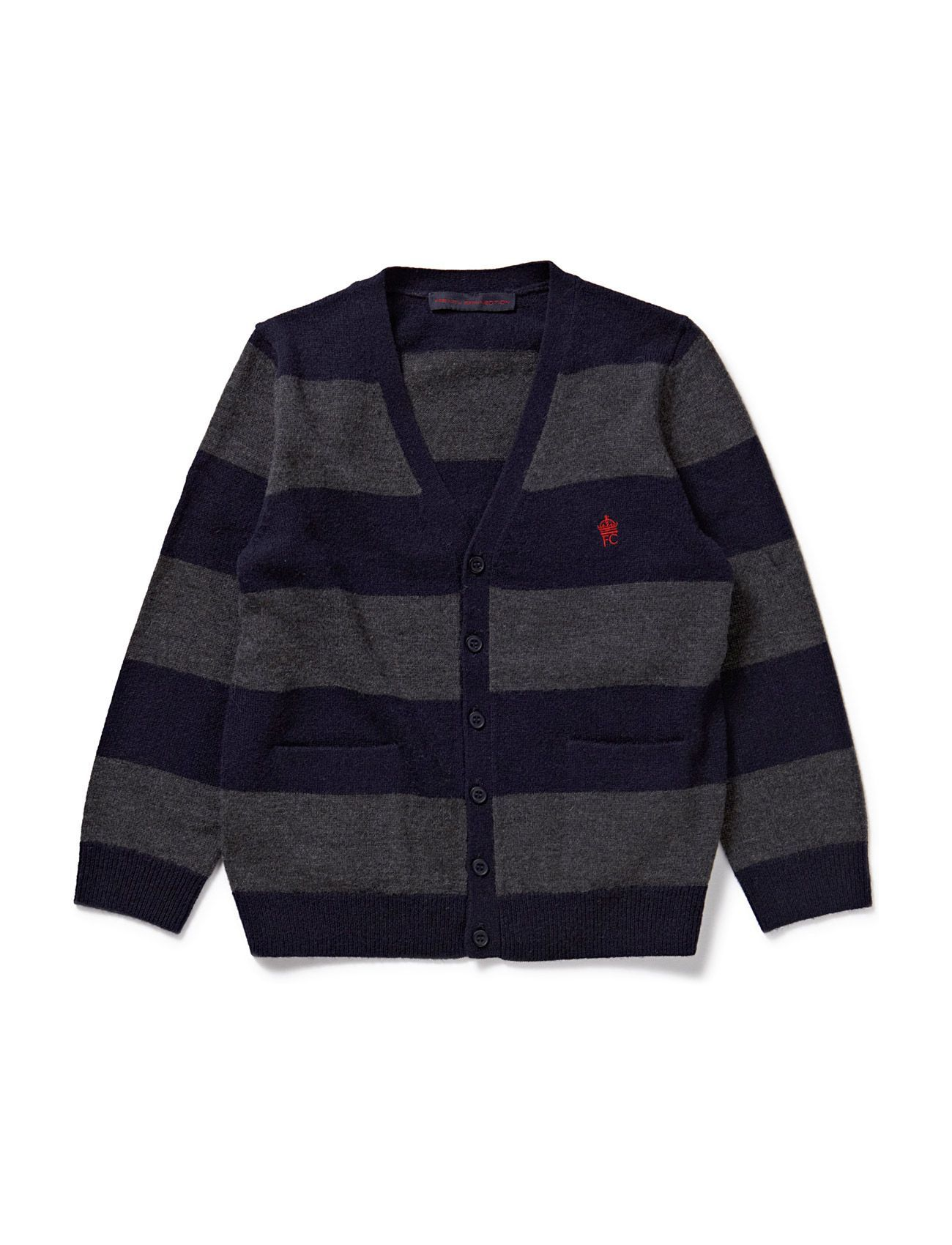 French Connection FYNE LAMBS STRIPE CARDI