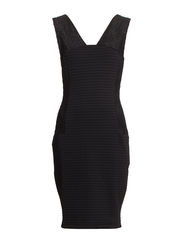 MANHATTAN S/LSS DRESS ASIA - BLACK