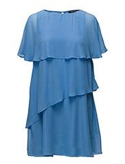 MIDSUMMER DREAM LAYERED DRESS - VISTA BLUE