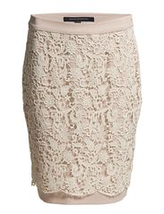 French Connection LOVING CROCHET PENCIL SKIRT