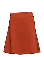 WHISPER RUTH MINI SKIRT - COPPER COIN