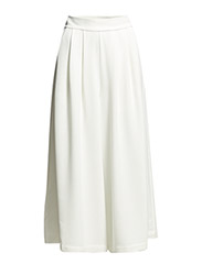 ARO CREPE FLARED TROUSER - SUMMER WHITE
