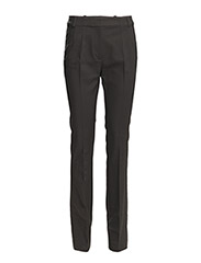 GLASS STRETCH TROUSER - BLACK
