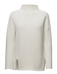 SUNDAY MOZART L/S HIGH NK JMPR - WINTER WHITE