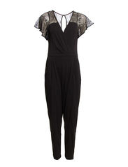 FT LIZA CREPE JUMPSUIT - BLACK