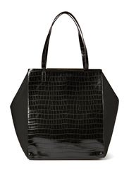 MEISSA SHOPPER - BLACK